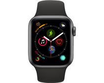 Apple Watch Series 4 40mm Space Gray Aluminium/Zwarte Sportband