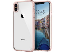 Spigen Ultra Hybrid Apple iPhone Xs Max Back Cover Pink