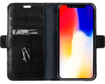 DBramante1928 Copenhagen Apple iPhone Xr Book Case Zwart