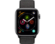 Apple Watch Series 4 44mm Space Gray Aluminum/Black Nylon Sport Band