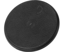 Decoded Leather Wireless Fast Charger Black