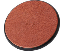 Decoded Leather Wireless Fast Charger Bruin
