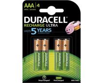 Duracell Recharge Ultra AAA-batterijen 4 stuks