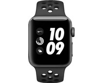 Apple Watch Series 3 Nike+ 38mm Space Grey Aluminium/Zwart