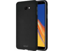 Azuri Flexible Sand Samsung Galaxy J6 Plus (2018) Back Cover Zwart