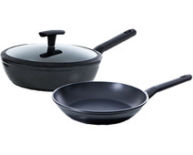 BK Easy Induction Frying pan 24cm and high-sided skillet 24cm