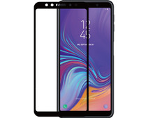 Azuri Tempered Glass Samsung Galaxy A7 (2018) Screen Protector Glass Black