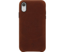 Decoded Leather Apple iPhone Xr Back Cover Bruin
