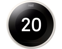 Google Nest Learning Thermostat V3 Premium Wit met installatie