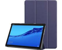 Just in Case Smart Tri-Fold Huawei Mediapad M5 Lite 10.1 Book Case Blue