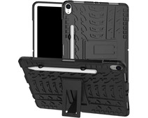 Just in Case Rugged Hybrid Apple iPad Pro 11 Inch (2018) Back Cover Black