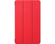 Just in Case Smart Tri-Fold Lenovo Tab E7 Book Case Red