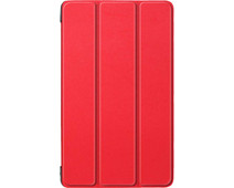 Just in Case Smart Tri-Fold Lenovo Tab E8 Book Case Rood