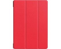 Just in Case Smart Tri-Fold Lenovo Tab E10 Book Case Red
