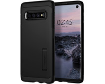 Spigen Tough Armor Samsung Galaxy S10 Back Cover Zwart