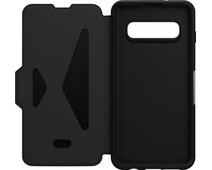 OtterBox Strada Samsung Galaxy S10 Book Case Black