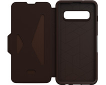 OtterBox Strada Samsung Galaxy S10 Book Case Brown
