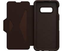 OtterBox Strada Samsung Galaxy S10e Book Case Brown
