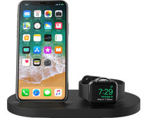 Belkin Boost Up Wireless Charger with USB A Port iPhone / Apple Watch Black