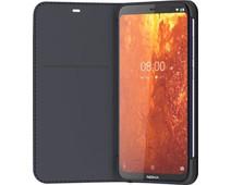 Nokia 8.1 Slim Flip Book Case Blue