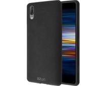 Azuri Flexible Sand Sony Xperia L3 Back Cover Zwart