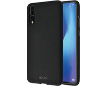 Azuri Flexible Sand Huawei P30 Back Cover Black