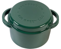 Big Green Egg Green Dutch Oven Round