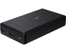 Aukey PB-Y7 Powerbank 30.000 mAh Power Delivery 3.0 + Quick Charge 3.0 Zwart