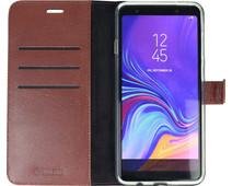 Valenta Booklet Gel Skin Samsung Galaxy A9 (2018) Book Case Bruin
