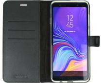 Valenta Booklet Gel Skin Samsung Galaxy A9 (2018) Book Case Zwart