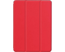 Just in Case Smart Tri-Fold Apple iPad Air (2019) Book Case Red