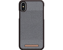 Nordic Elements Sif Check Apple iPhone X/Xs Back Cover Bruin