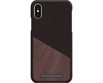 Nordic Elements Frejr Apple iPhone X / Xs Back Cover Brown / Wood