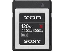 Sony XQD G 120GB High Speed R440 W400
