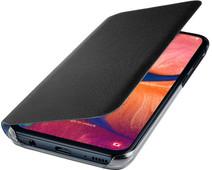 Samsung Galaxy A20e Wallet Book Case Zwart