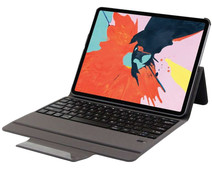 Just in Case Premium Apple iPad Pro 12,9 inch (2018) Book Case Zwart QWERTY