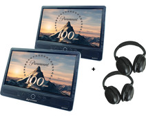Autovision AV2500IR DUO Deluxe + 2x Autovision AV-IRS koptelefoon