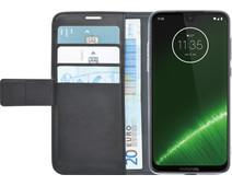 Azuri Wallet Magneet Motorola Moto G7 Plus Book Cover Zwart