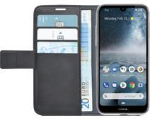 Azuri Wallet Magneet Nokia 4.2 Book Cover Zwart