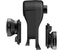 Olloclip Apple iPhone Xr Clip + Fisheye, Macro and Wide Angle Lens Set