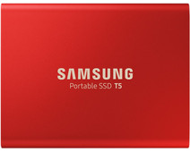 Samsung Portable SSD T5 1TB Red