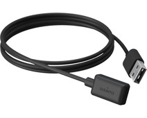 Suunto Magnetische USB Oplaadkabel Zwart