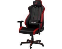 Nitro Concepts S300 EX Gaming Stoel - Inferno Red