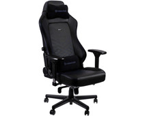 Noblechairs HERO Gaming Chair PU Faux Leather - black / blue