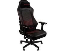 Noblechairs HERO Gaming Stoel  Echt Lederen - black / red