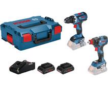 Bosch GSR 18V-60 C + GDX 18V-200 C Combi Set