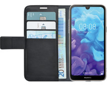 Azuri Wallet Magnet Huawei Y5 (2019) Book Case Black