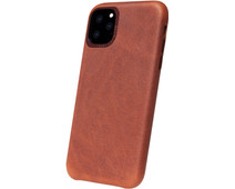 Decoded Apple iPhone 11 Pro Back Cover Leer Bruin
