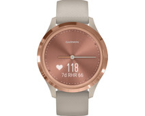 Garmin Vivomove 3S Sport - Rose Gold/Beige - 39mm
