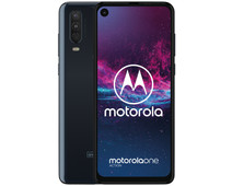 Motorola One Action Blauw